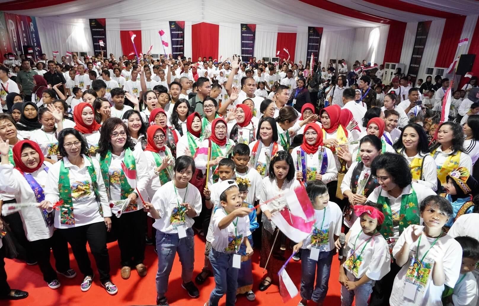 Temu Sapa dan Bergembira Bersama Ibu Negara Iriana Joko Widodo
